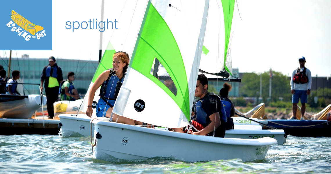 spotlight on public programs: bronx river camp and sailing camp