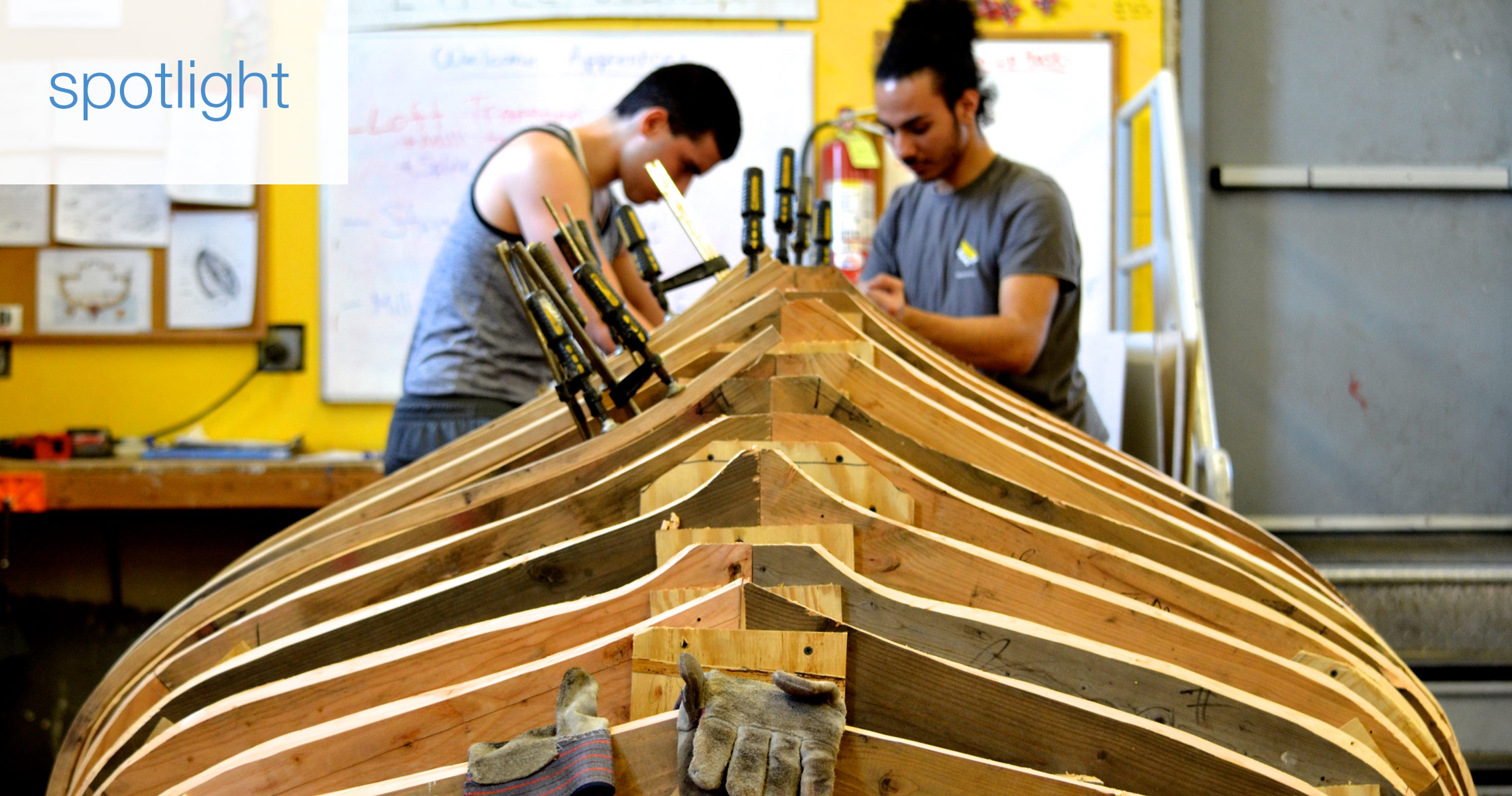 spotlight on boatbuilding